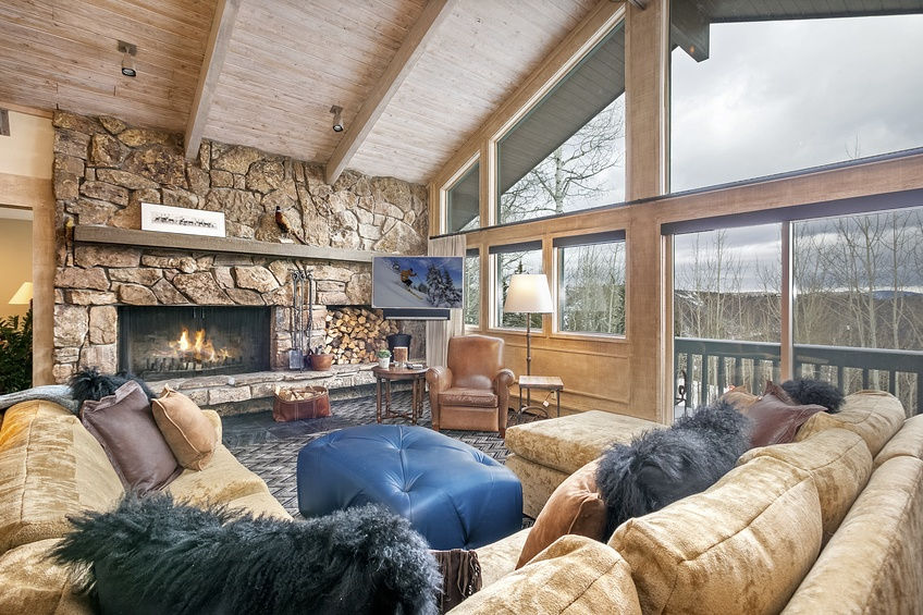Aspen Snowmass Rentals This Wonderful 5500 Square Foot Large Snowmass Home Rental Is Located